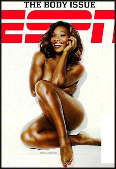 Serena Williams Nua na ESPN: Tente ficar sereno