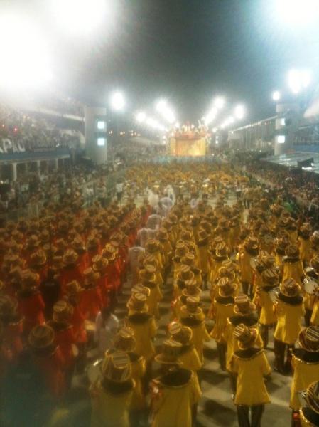 Em cima do carro de som: nossa visão do desfile da Gaviões da Fiel