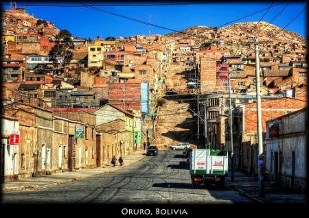 A simpática Oruro