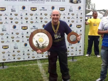 Marcio Zanardi: Melhor treinador da competição e campeão - Foto:Reprodução