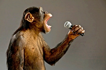 macaco-com-microfone